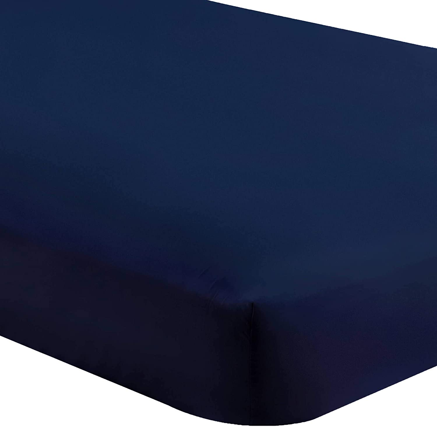 """Bare Home 5 Twin XL Fitted Premium Ultra-Soft Bed Sheets (5-Pack) - Hypoallergenic, Twin Extra Long, 15"""" Deep Pocket, 39"""" x 80"""" (Twin XL, Dark Blue)"""