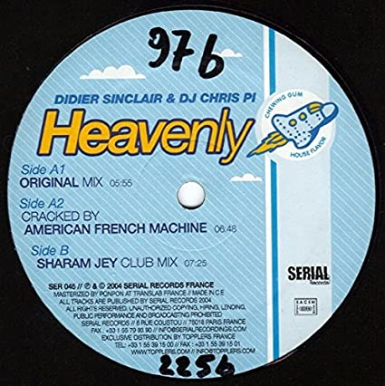 DIDIER DJ PI CHRIS SINCLAIR HEAVENLY TÉLÉCHARGER