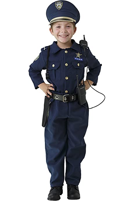 BOYS DRESS UP COSTUMES FIREMAN POLICE COWBOY 3-4 YEARS FANCY DRESS ROLE PLAY