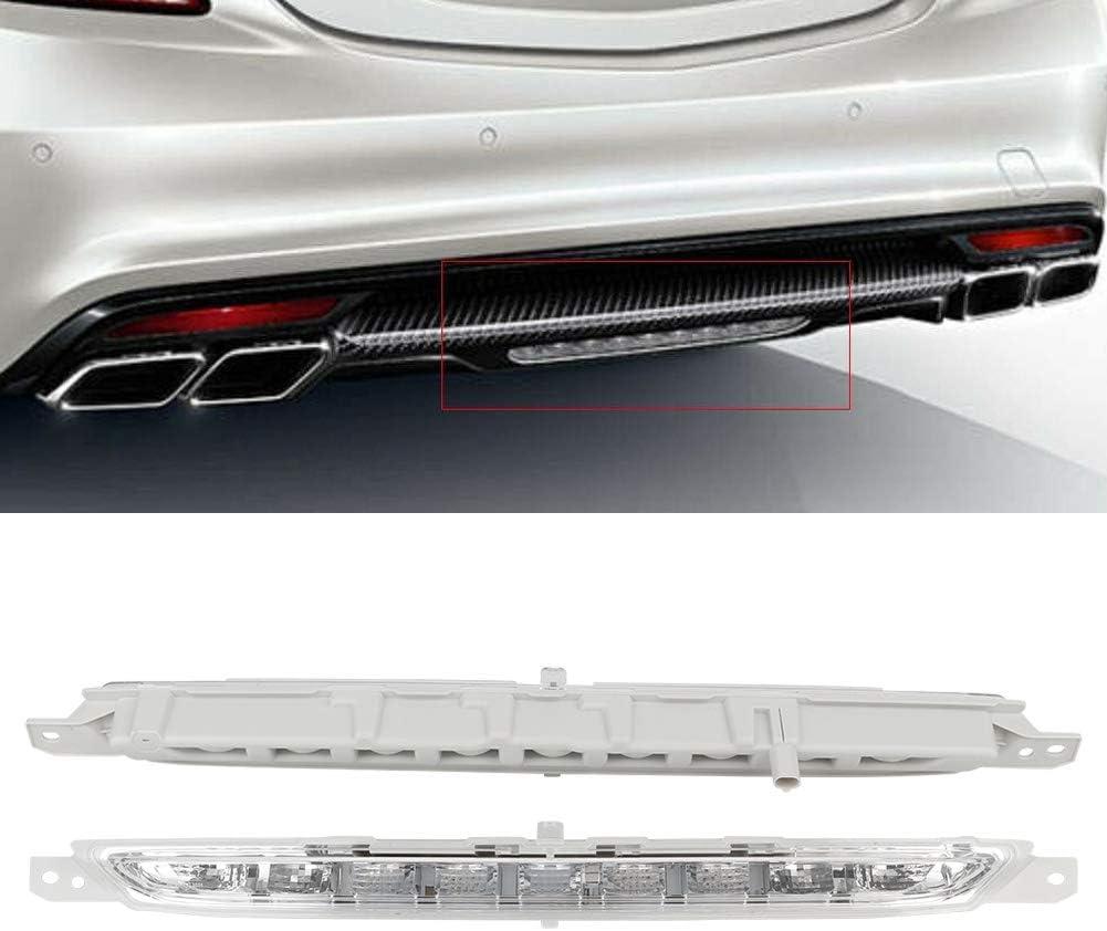 Rear Bumper Light,Rear Bumper Light Stop Lamp A2229060048 Fit for Mercedes-Benz S Class W222 S500 S600 14-17