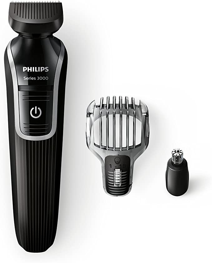 Philips QG3320/15 - Recortador de barba y precisión 3 en 1, color ...