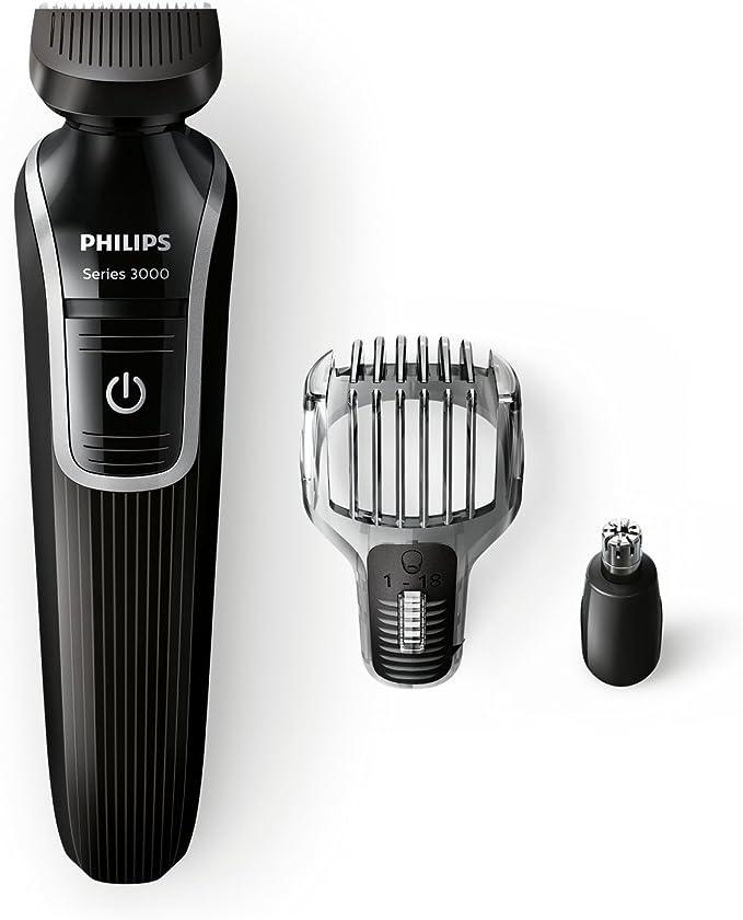 Philips QG3320/15 - Recortador de barba y precisión 3 en 1, color ...