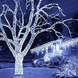 JMEXSUSS Christmas Lights White String Lights 66ft