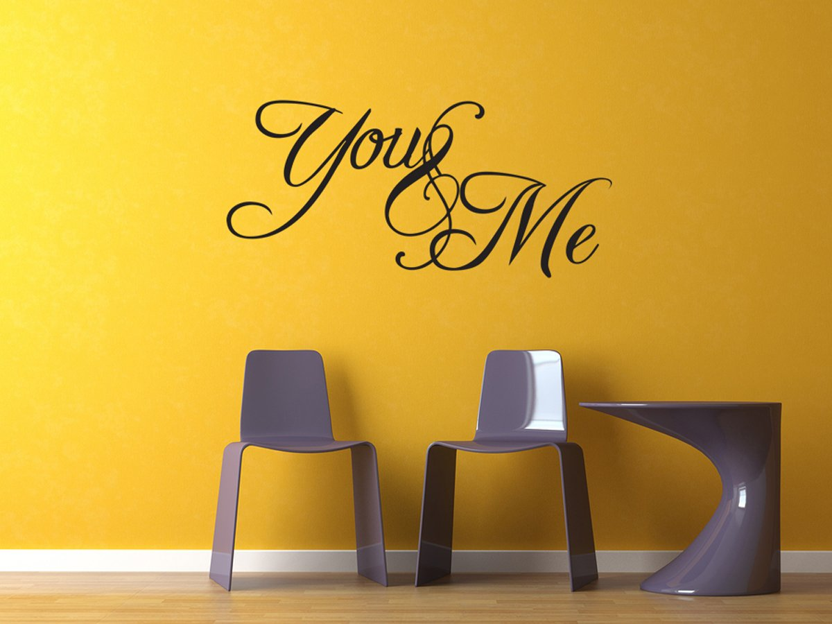 Amazon.com: You and me bedroom Vinyl Wall Decal Sticker Quote Art ...