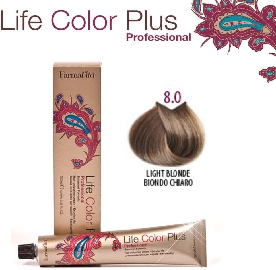 Farmavita Life Color Plus Tinte Capilar 8.0-90 ml