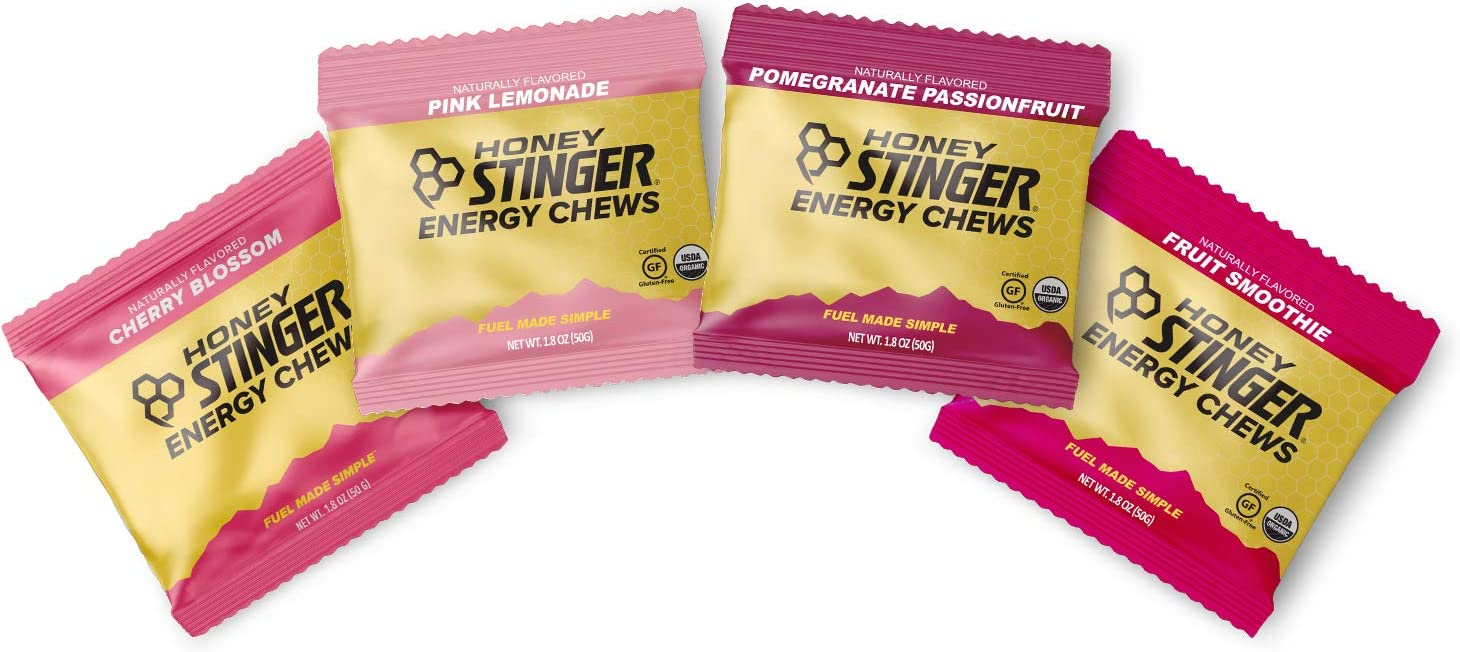 Honey Stinger Organic Energy Chews Variety Pack