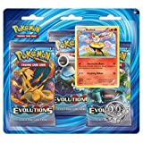 Pokemon TCG XY-Evolutions Three-Booster Blister with Braixen Promo Card Card Game(00386)
