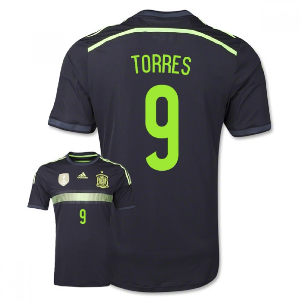 94d776c36 ... Amazon.com Spain 2014 FIFA World Cup Away Jersey Sports O 2014 World  Cup Spain 6 A.Iniesta Home Soccer Long Sleeve Shirt ...