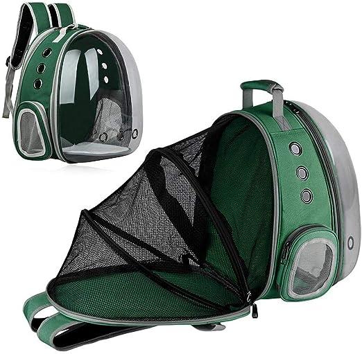 MOGOI Cat Dog Backpack Carrier Pet Backpack Pet Travel Bag con respiraderos Transpirable Transparente expandible como una Tienda de Mascotas para Perros pequeños, Gatos, Conejos: Amazon.es: Productos para mascotas