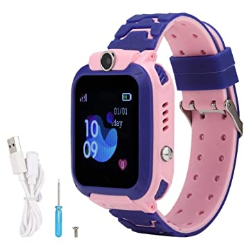 ASHATA Niños Smartwatch Phone Reloj para niños LBS ...