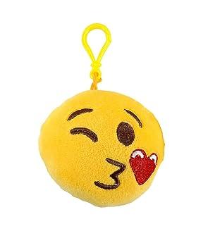 Colgante Llavero Sonido en Peluche Emoticones Emoji ...