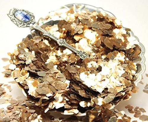 Gold - Large Flake - Natural Mica - #311-4364 (One Pound Bulk)