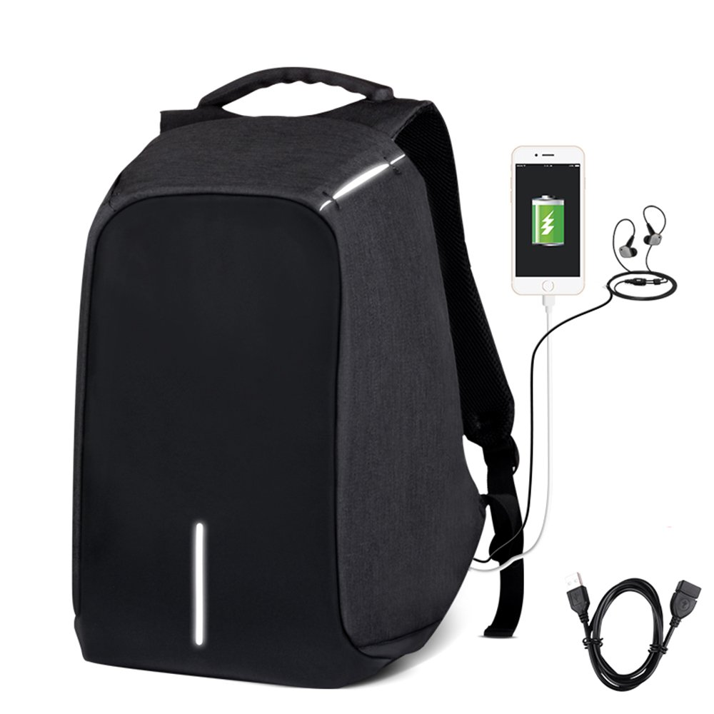 Day Bagpack/School Backpack/Travel Backpack/Anti Theft School Backpack/College Backpack/Business Backpack with USB Charging Port Suitable for Under 15.6-inch Laptop Backpack Mens/Womens