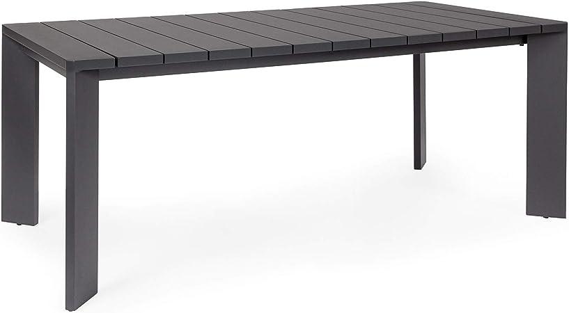 Bizzotto - Mesa Atlantic de Aluminio, 188 cm, para Exterior ...