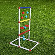 Educational Ladder Toss Game, Portable Durable Ladder Toss Game Set, Outdoor Parent-Child Interaction Camping