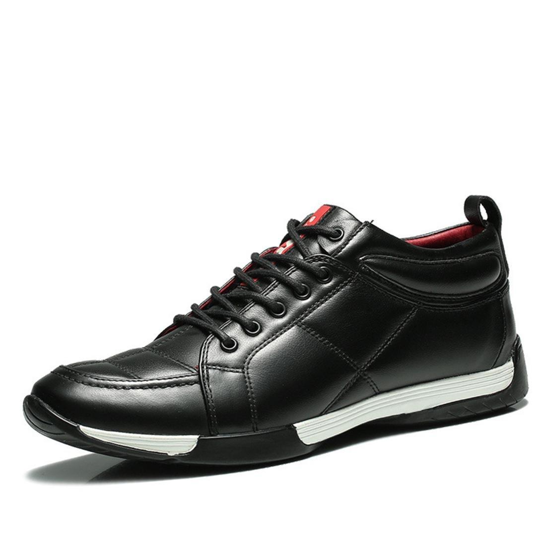 Herren Mode Sportschuhe Freizeit Lederschuhe Lässige Schuhe Trainer Flache Schuhe Rutschfest Licht Gemütlich Laufschuhe EUR GRÖSSE 38-44