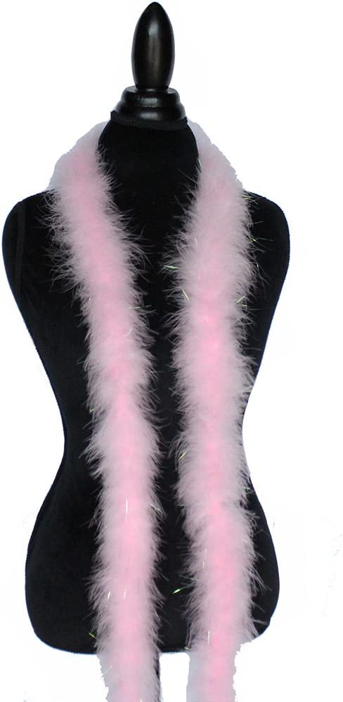 40+ Colors and Patterns to Pick from Red 22g 72 Long Turkey Marabou Feather Boa