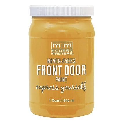 Modern Masters Door Paint.Modern Masters 275281 Front Door Paint 1 Quart Satin Confident