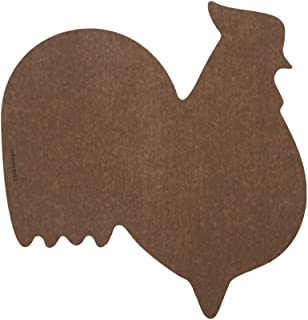 product image for Epicurean Cutting Surfaces Novelty Series Cutting Board, Rooster, Nutmeg