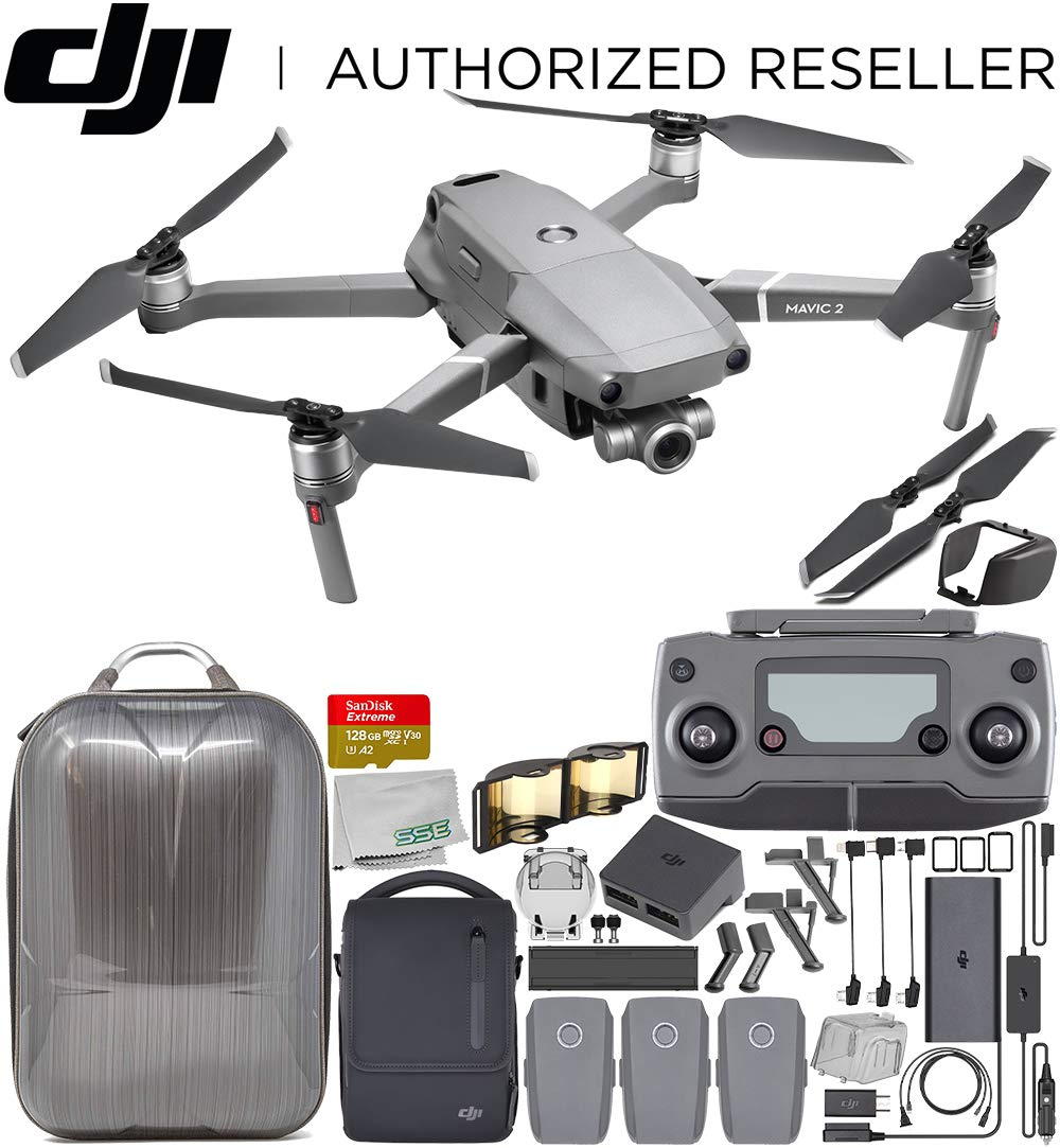 DJI Mavic 2 Zoom Drone Quadcopter with 24-48mm Optical ...