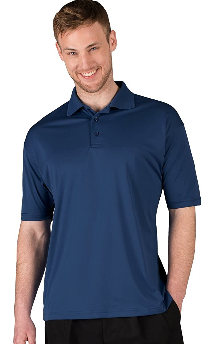 Blue Generation BG7231 Short Sleeve Men/'s Ultra-Lux Polo