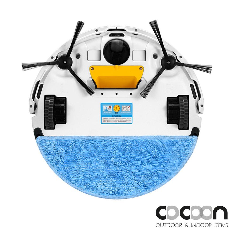 Robot aspirador inteligente iLife V5 Pro con mando a distancia, función 2 en 1 (en seco o húmedo)