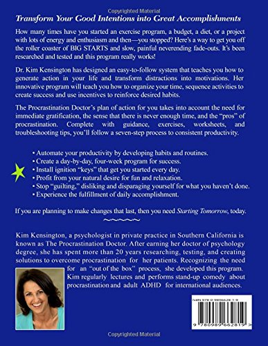 Amazon.com: Starting Tomorrow: 7 Steps to Lasting Change - Get ...