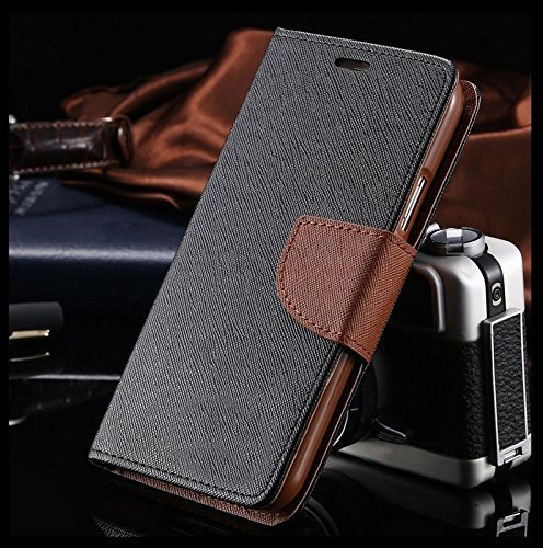 Homeland Series Mercury Magnetic Lock Diary Wallet Style Flip Cover Case for for Mi Redmi A1