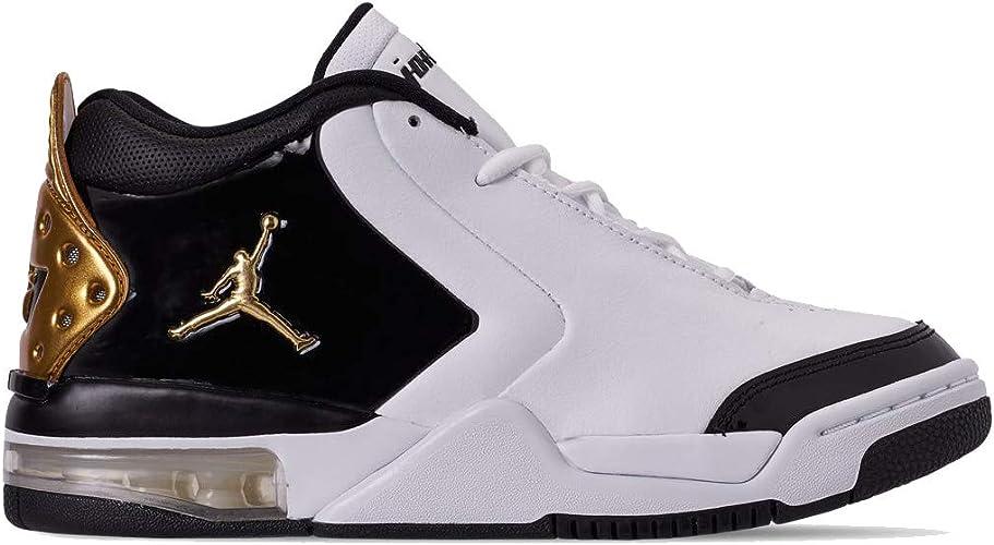 Details zu Nike Jordan Big Fund (GS) Sneaker Schuhe Kinder Jungen Damen Weiß BV6434 101