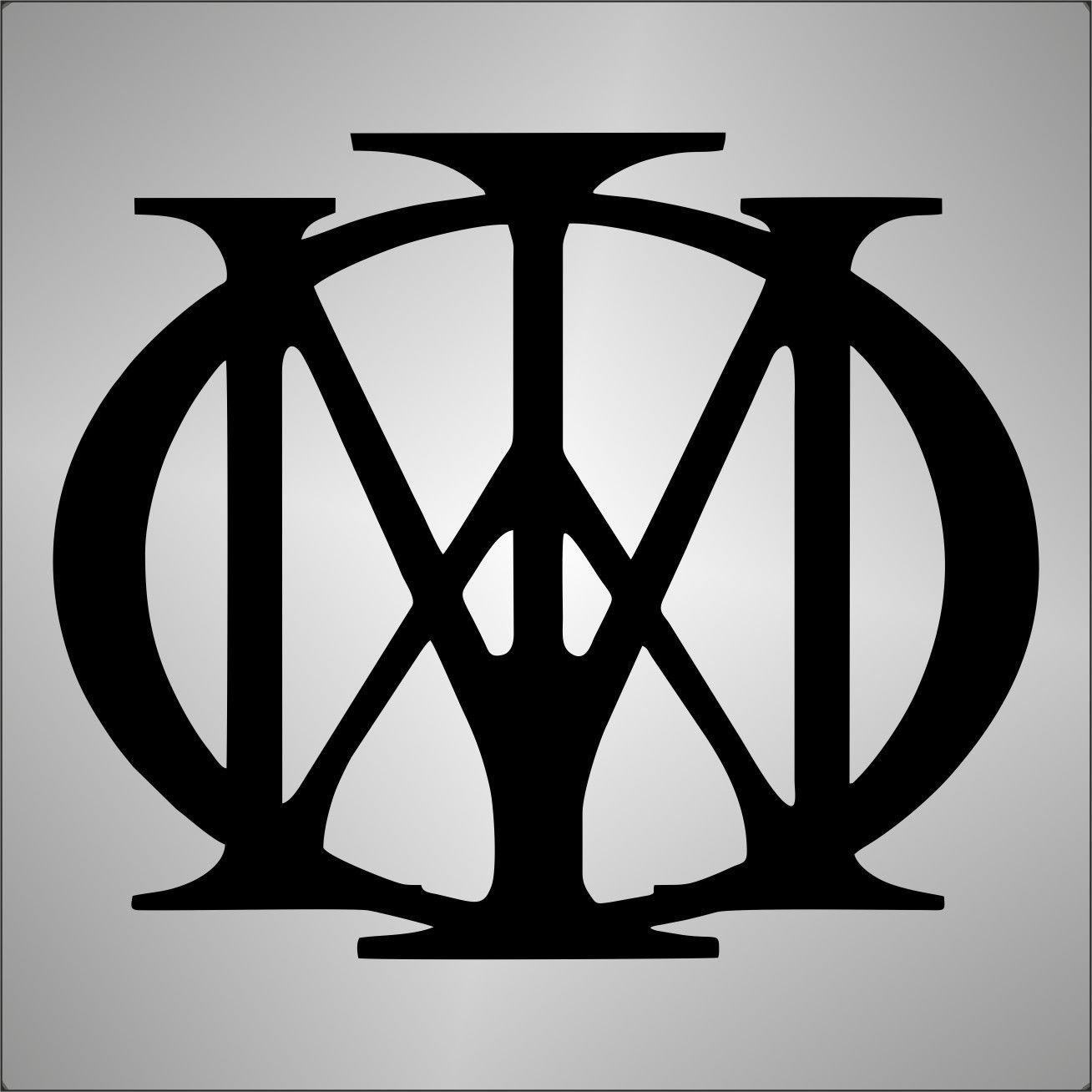 Adesivo PRESPAZIATO Dream Theater jazz hard rock metal Graphic-lab