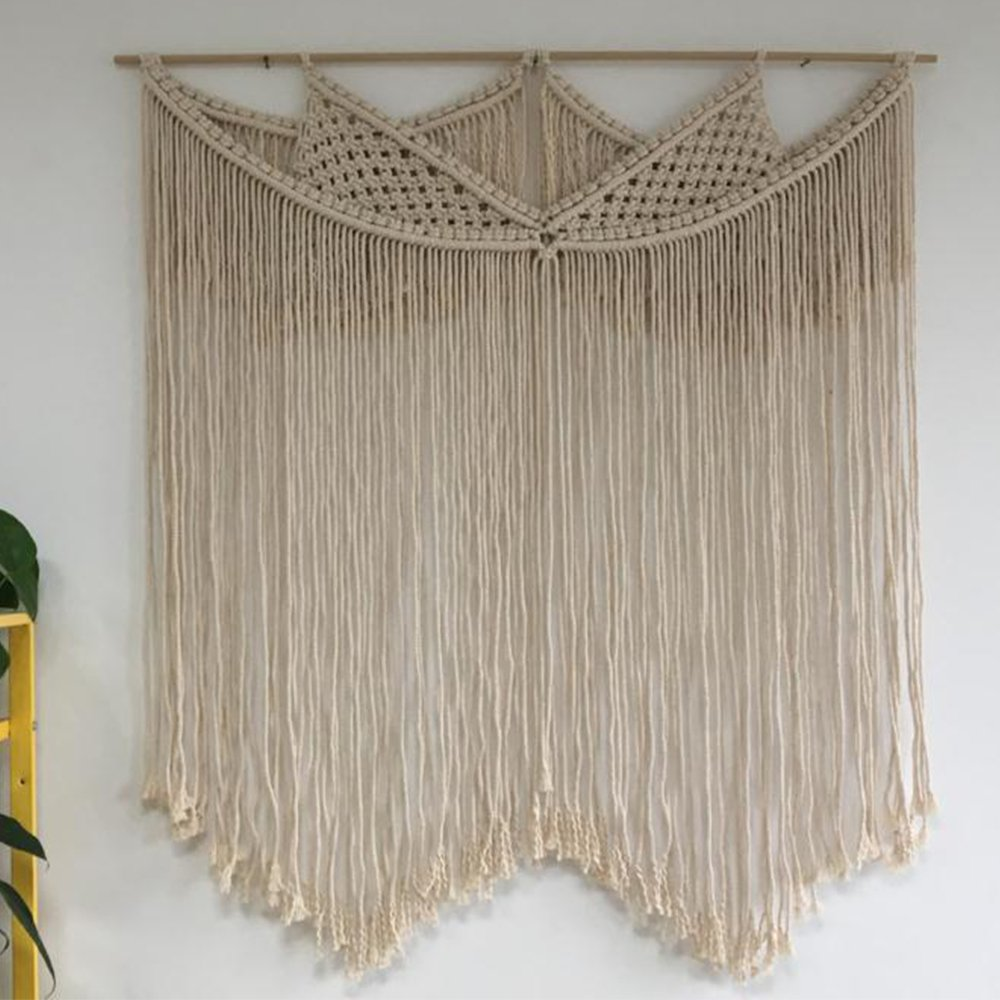 Large Wall Hanging,Macrame,Wall Hanging,Bohomian Bedroom,Boho Wall Art,Wedding Decor,Macrame Wedding Backdrop 41''LX36''W