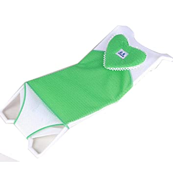 Amazon.com : Newborn Baby Bath Seat Support Net Bathtub Sling Shower ...