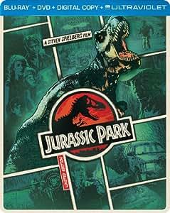 Jurassic Park (Steelbook) (Blu-ray + DVD + DIGITAL with UltraViolet)