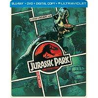 Jurassic Park Steelbook on Blu-ray
