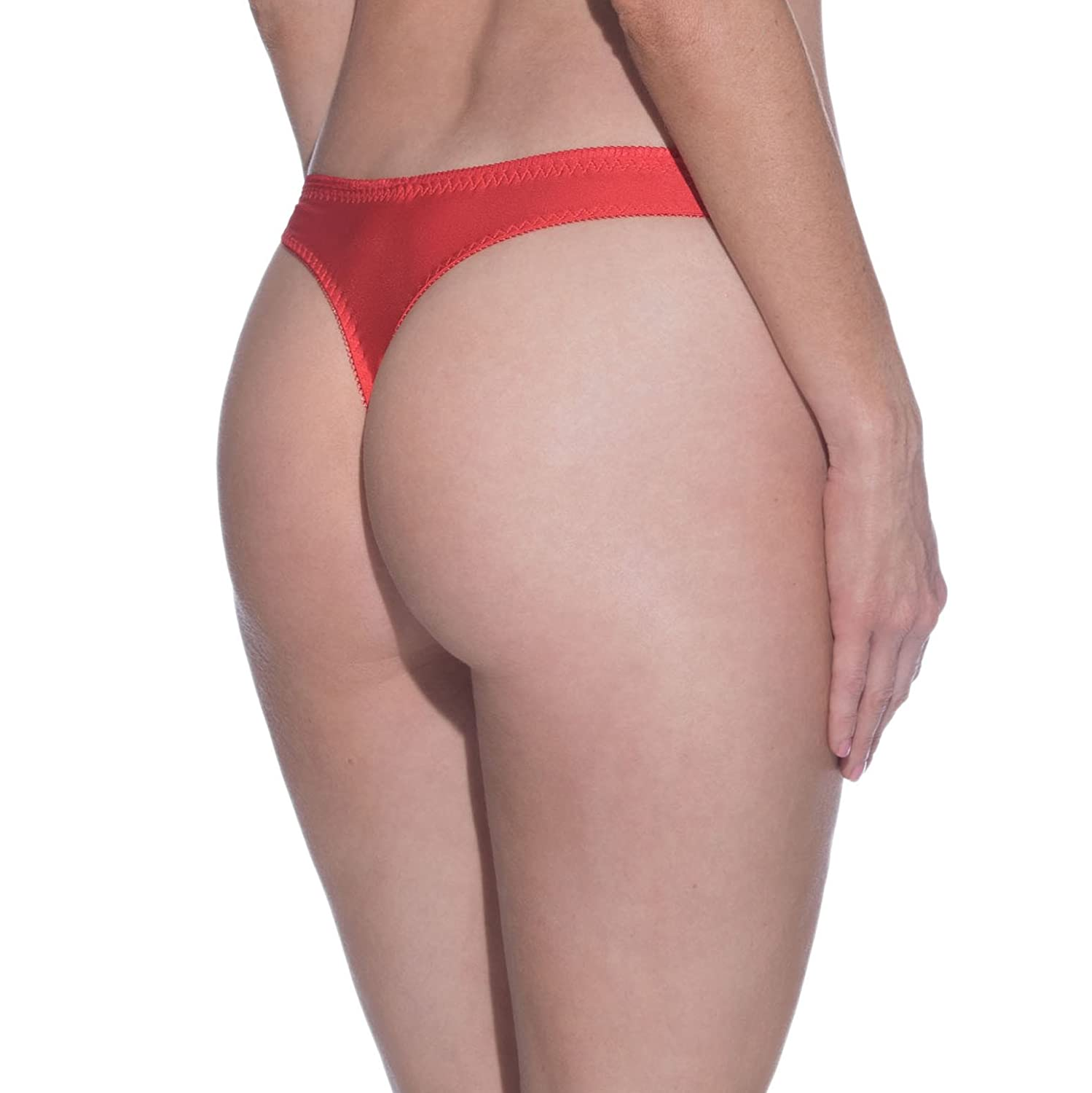 Playboy Women's Forget Me Not G-string Panty (Red)