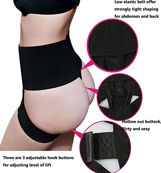 9e0c85b56894d DODOING Butt Lifter Panty Booty Enhancer Tummy Control Body Shaper for  Women at Amazon Women s Clothing store