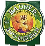 Badger Anti-Bug Balm with Citronella & Rosemary - 2 oz Tin (2 Pack)