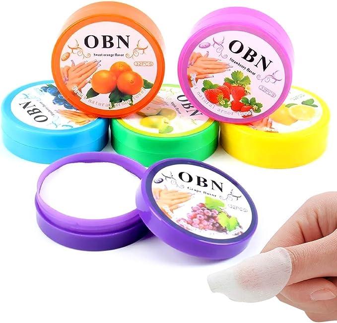 Almohadillas para eliminar el esmalte de uñas, Almohadillas de ...