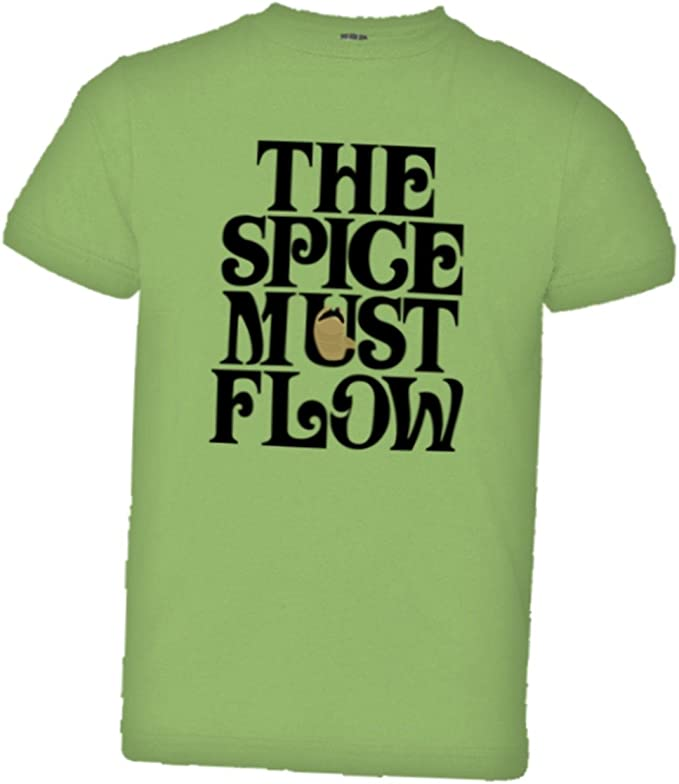 PleaseMeTees Toddler The Spice Must Flow HQ Tee Shirt