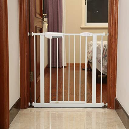 Amazon Com Caliybrid Easy Install Extra Tall And Wide Baby Gate