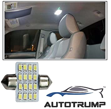 Autotrump 16 Led Interior Roof Light For Ford Ikon Amazon In Car Motorbike