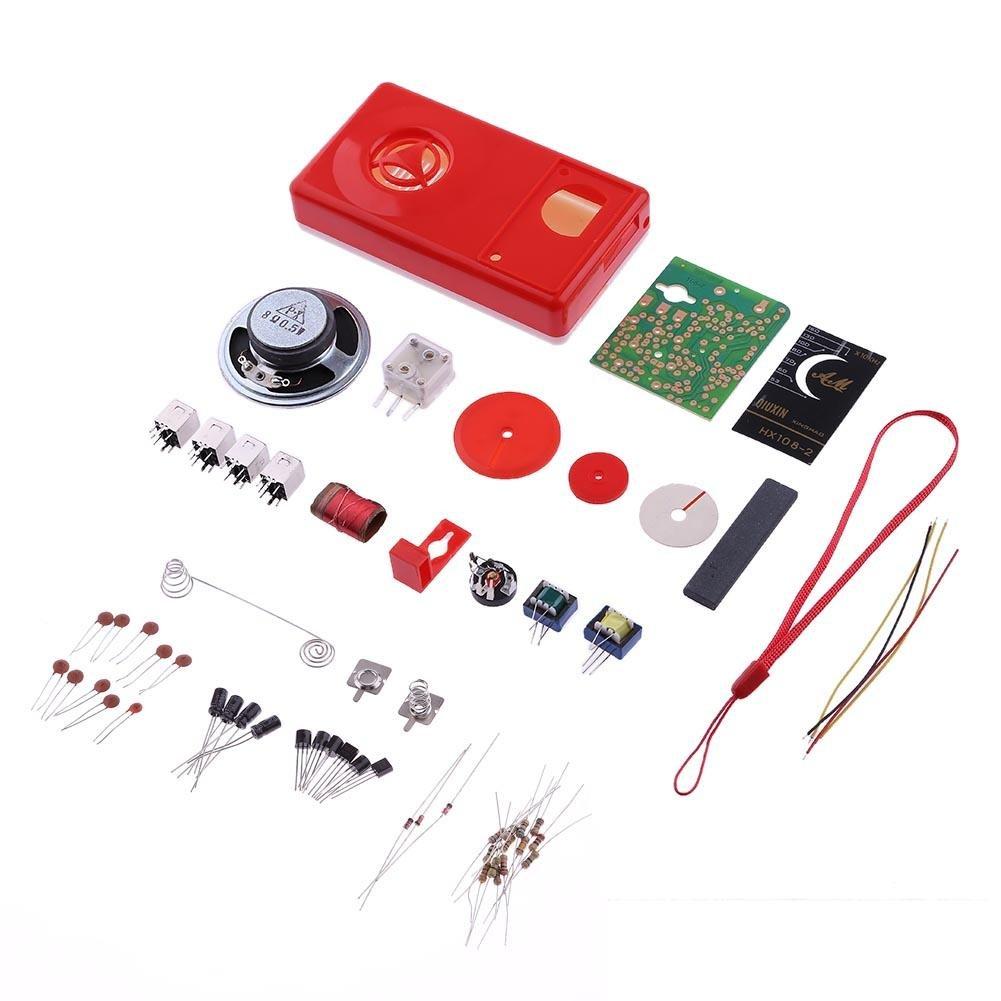 Youn Hx108–27Tube Radio AM 525–1605Khz 100MW électronique DIY Kit Apprentissage Ensemble 2xw1pe8ll6jw1cx2