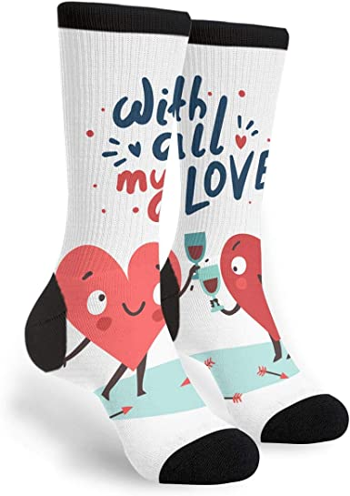 Fashion Travel Breathable Socks Youre My Lobster Men /& Women Running Casual Socks