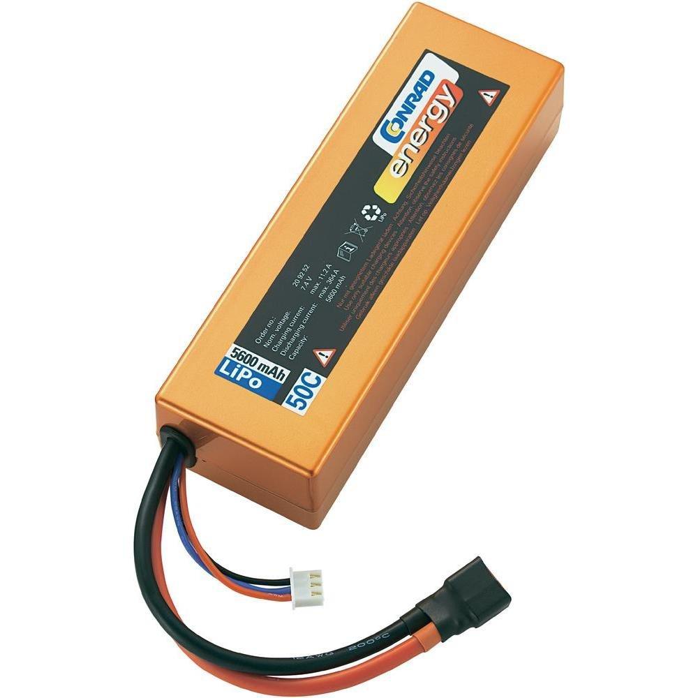 Conrad 209252 batería recargable - Batería/Pila recargable (Polímero de litio, RC model, Cobre)