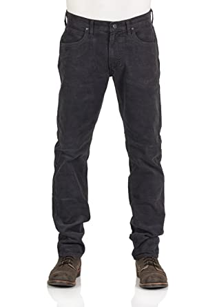 461e59fa Lee Men's Daren Stretch Corduroy Jeans Grey: Amazon.co.uk: Clothing