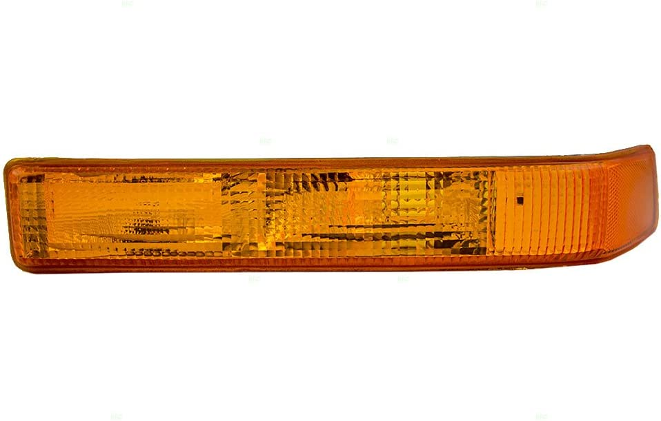 HEADLIGHTSDEPOT Front Parking//Signal Light Right Passenger Side Compatible With Chevrolet S10 S10 Blazer