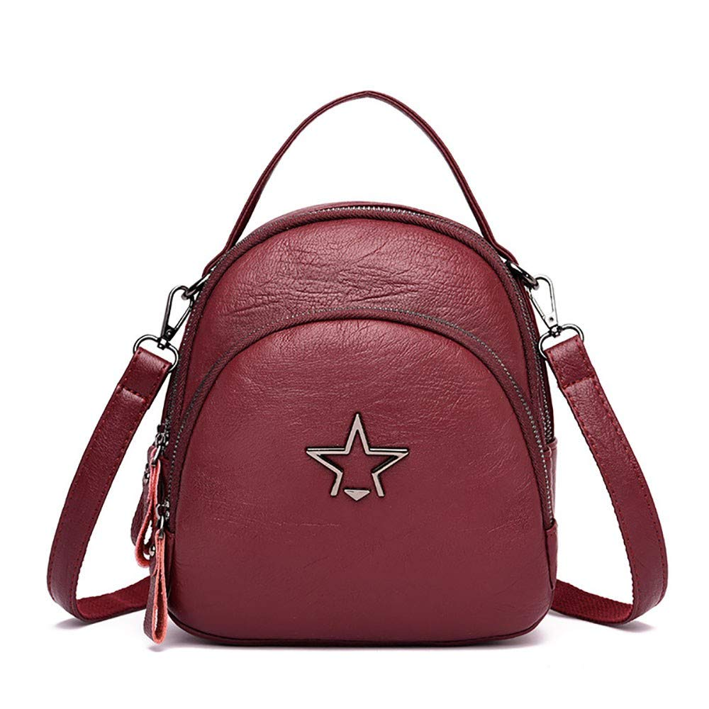 f81238281038f CBCAA Lady s one-Shoulder Straddle Straddle Straddle with a Soft Leather  Mini-Shoulder Bag on The Street