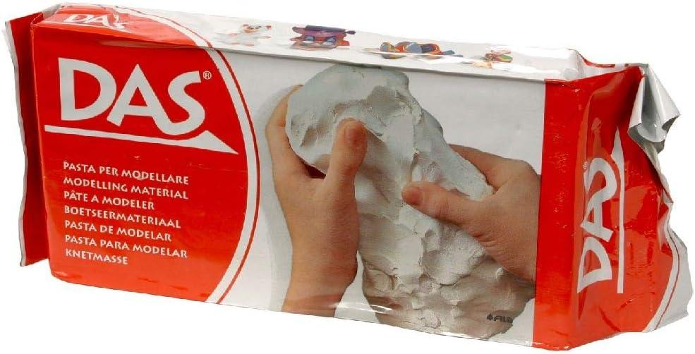 Das s153875das modelado material, 1kg Volumen, color blanco