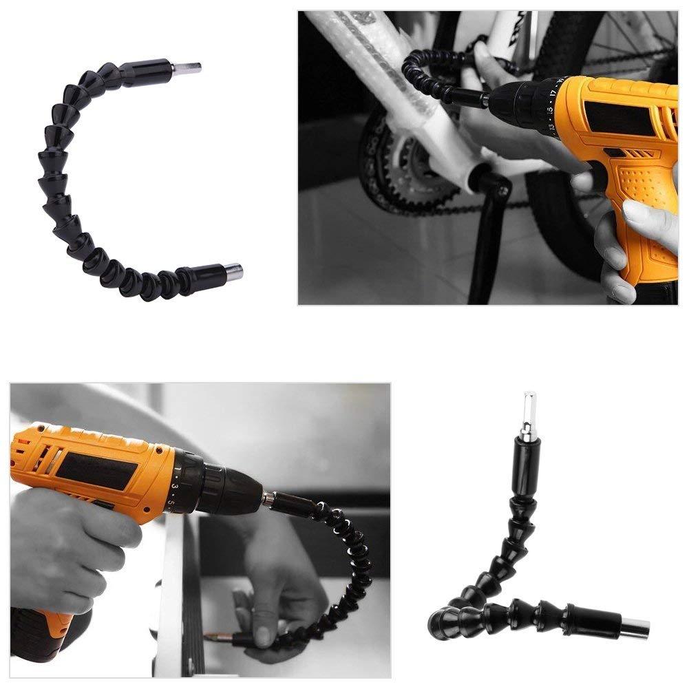 destornillador flexible eje magn/ético hexagonal suave soporte flexible para brocas Destornillador flexible