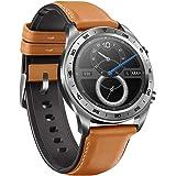 Huawei Hounor Orologio Magic Smart Watch 1.2 Pollici Schermo in Colore Amol GPS Orologio da Polso 390 * 390 Monitor di frequenza cardiaca pedometro Tracker di Esercizi (argento)